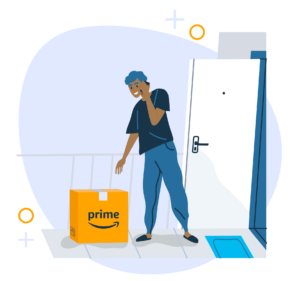 Image of local contact-less delivery