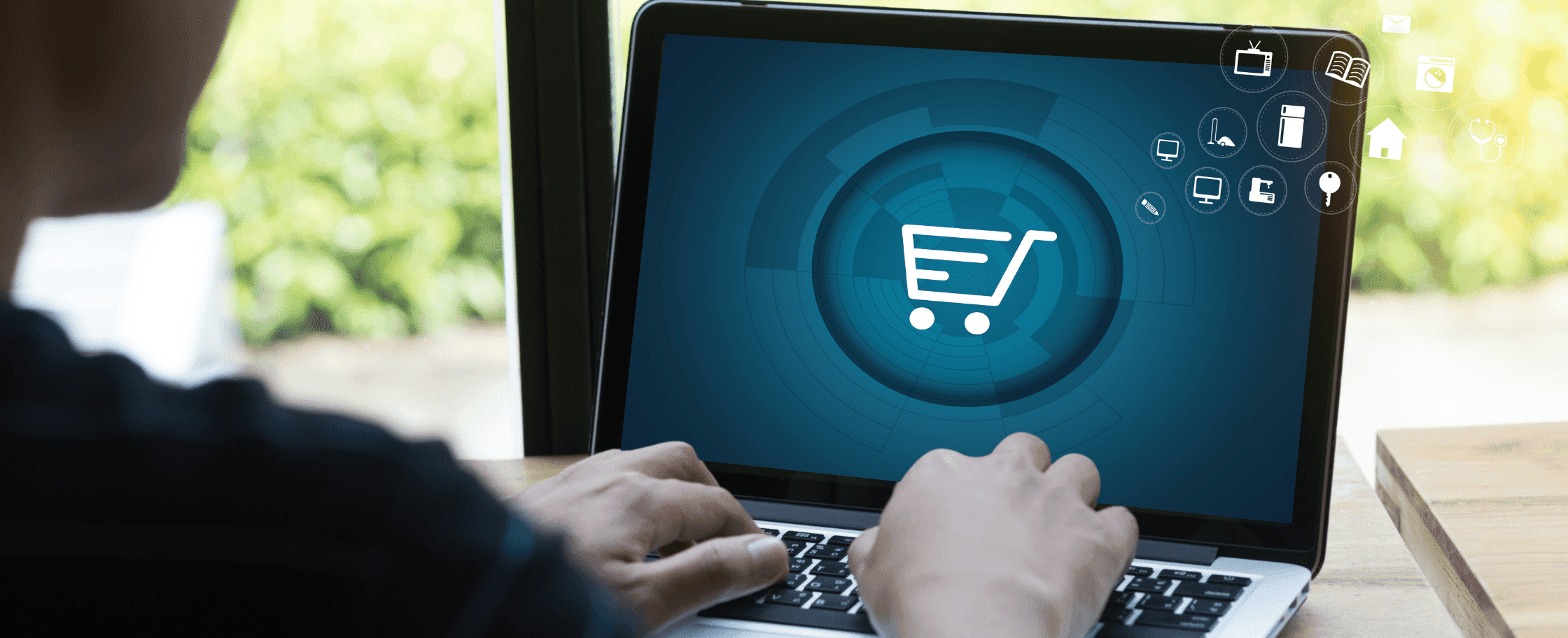Image of ecommerce fulfillment platform on laptop