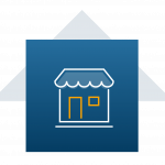 image of brick-and-mortar retail storefront icon
