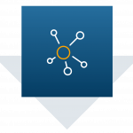image of supply chain hub and spoke